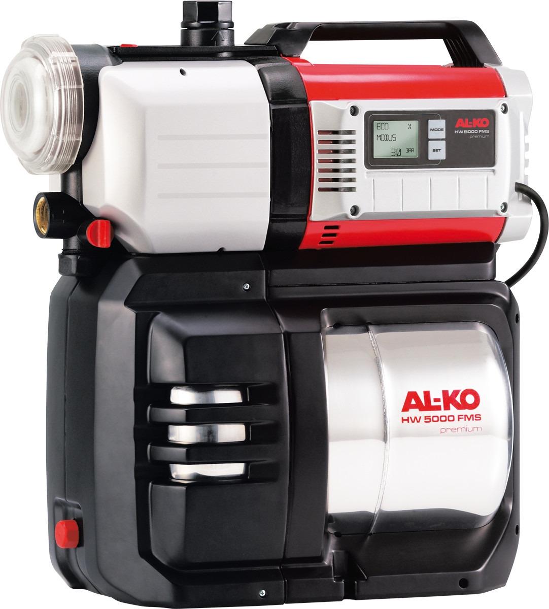 цена на Насосная станция AL-KO HW 5000 FMS Premium, 112851, серый, черный, красный