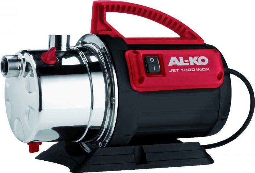Садовый насос AL-KO Jet 1300 Inox, 113248, серый, черный, красный цены онлайн