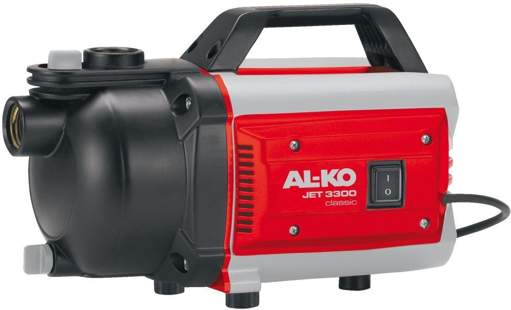 Садовый насос AL-KO Jet 3300, 113510, серый, черный, красный поверхностный насос al ko jet 3000 inox classic
