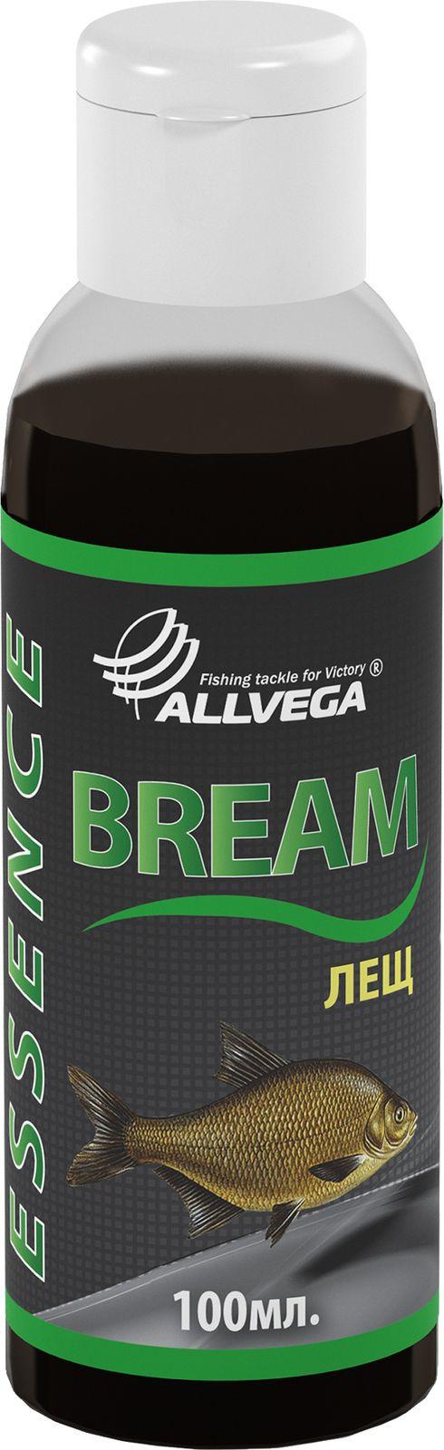 Ароматизатор-концентрат для рыбалки Allvega Essence Big Bream Крупный лещ , 100 мл ароматизатор чеснок для рыбалки