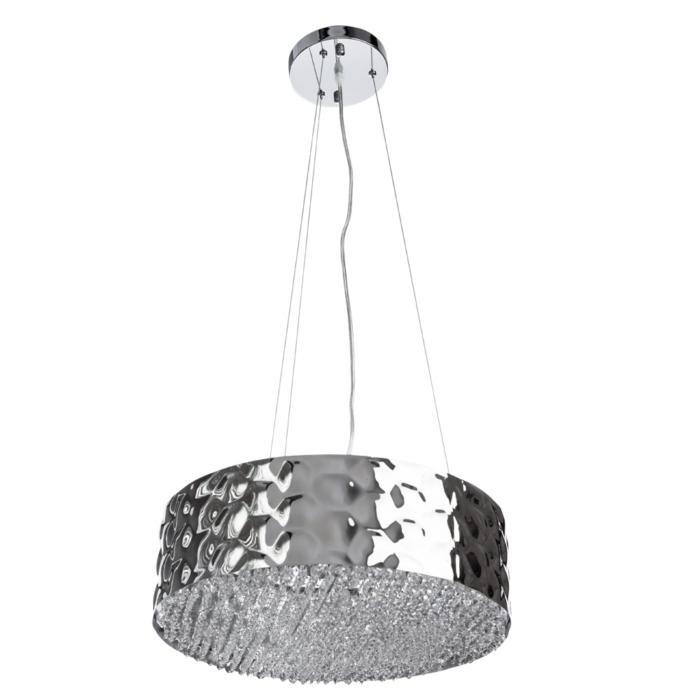 Подвесной светильник Divinare 2002/01 SP-6, серый металлик подвесной светильник divinare 1157 01 sp 2 серый металлик