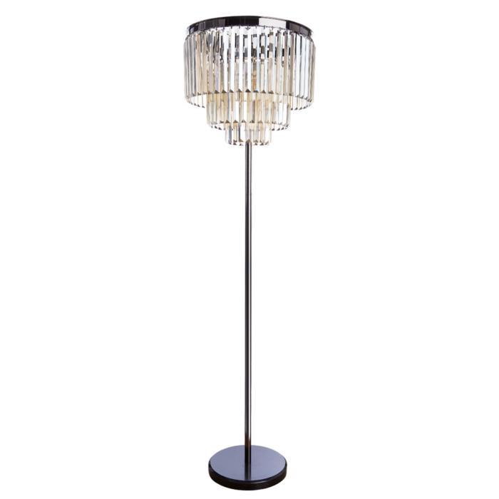 Напольный светильник Divinare 3002/06 PN-6, серый металлик