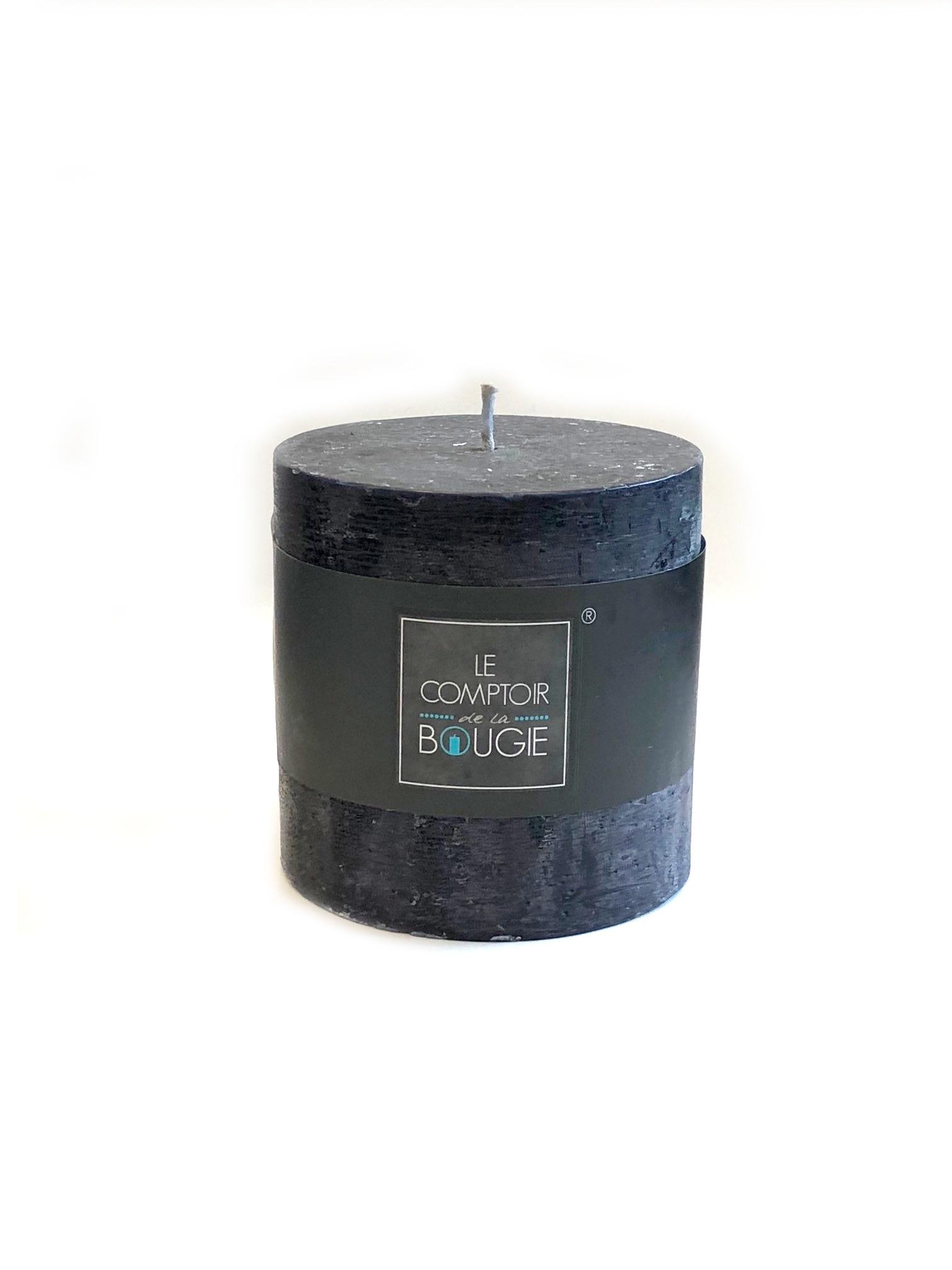 Свеча цилиндрическая (черная), 720 (гр.) свеча ароматизированная arome enjoy 136582a