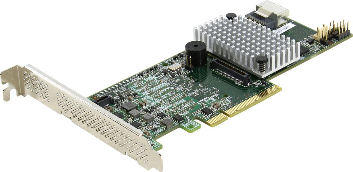 Контроллер LSI 9271-4I LSI00328 контроллер lsi sas 9271 4i sgl lsi00328