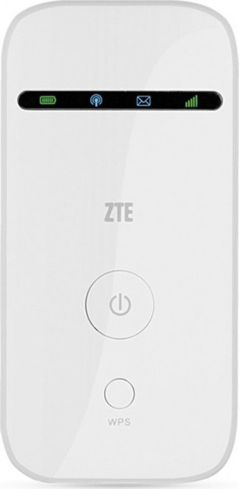 Фото - Модем 2G/3G ZTE MF65M Unlock USB Wi-Fi +Router внешний, белый zte mf65m white