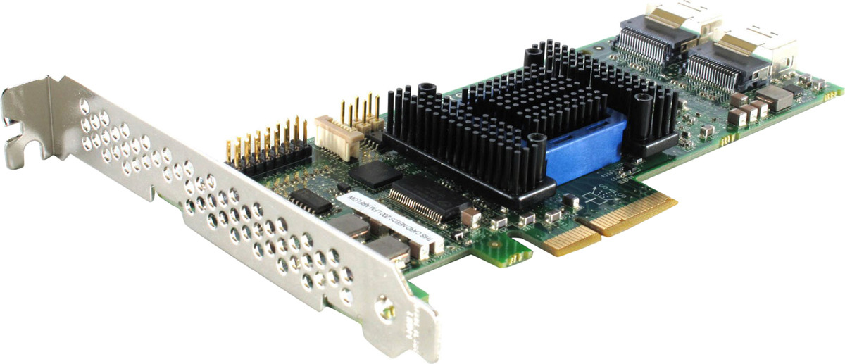Контроллер Adaptec ASR-6805E SGL 2270900-R все цены