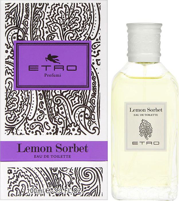 Туалетная вода Etro Lemon Sorbet, 100 мл etro накидка
