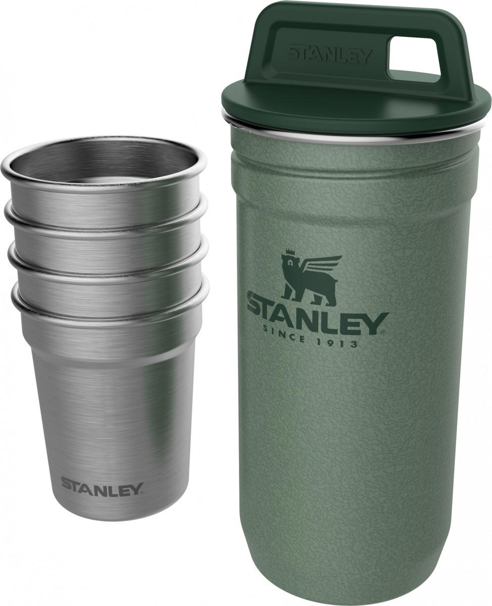 Набор стопок Stanley Adventure, 10-01705-039, зеленый, 59 мл, 4 шт