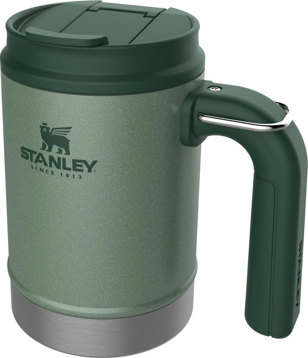 Термокружка Stanley Classic, походная, 10-01693-025, темно-зеленый, 470 мл