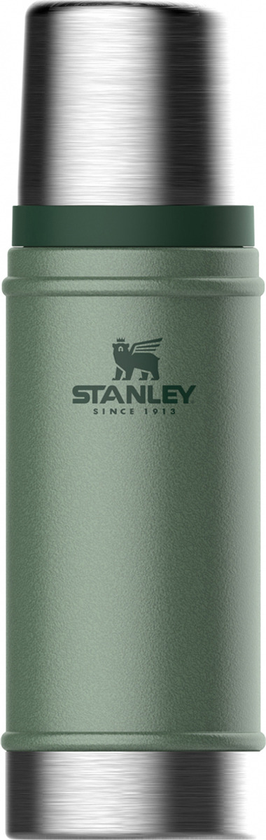 Термос Stanley Classic, 10-01228-072, темно-зеленый, 470 мл