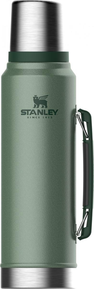 Термос Stanley Classic, 10-08266-001, темно-зеленый, 1 л