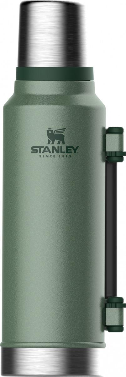 Термос Stanley Classic, 10-08265-001, темно-зеленый, 1,4 л