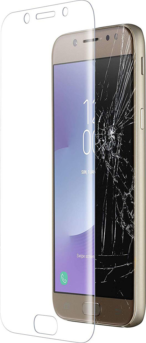 Защитное стекло Cellularline для Samsung Galaxy J5 (2017), TEMPGCABGALJ517T, прозрачный защитное стекло samsung galaxy j5 2017 г