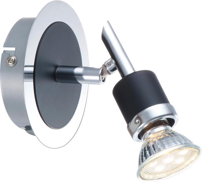 Настенно-потолочный светильник Globo New 57600-1, черный globo спот globo diamondbacks 57600 1 ikdz6i9
