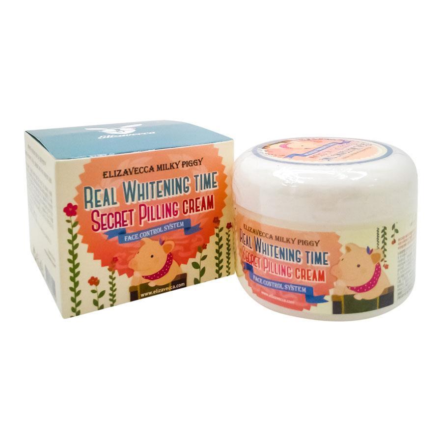 цена на Крем для ухода за кожей Elizavecca Milky Piggy Real Whitening Time Secret Peeling Cream, 100