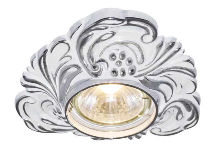 купить Встраиваемый светильник Arte Lamp A5285PL-1WA, белый по цене 400 рублей