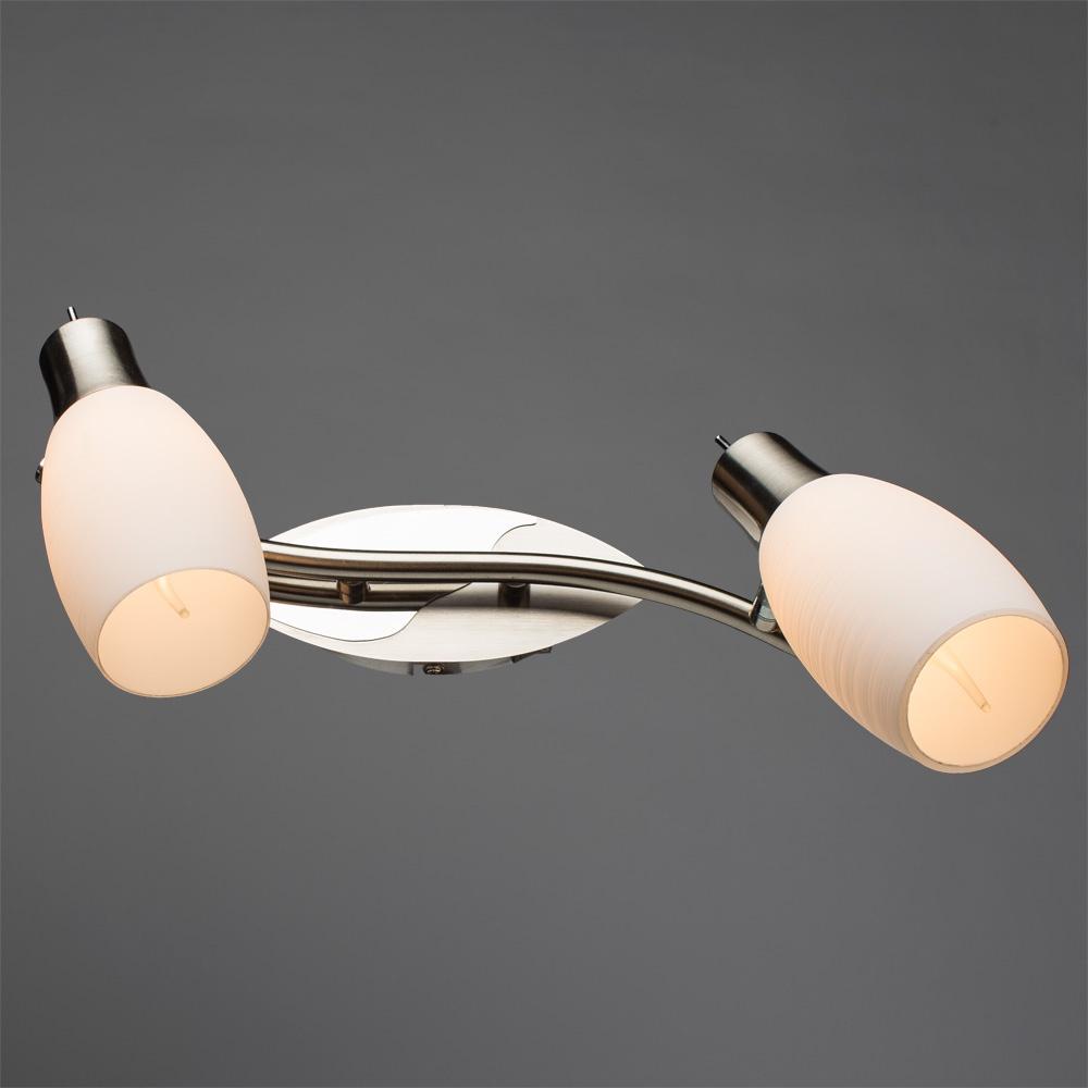 Настенно-потолочный светильник Arte Lamp A4590AP-2SS, E14, 40 Вт Arte Lamp