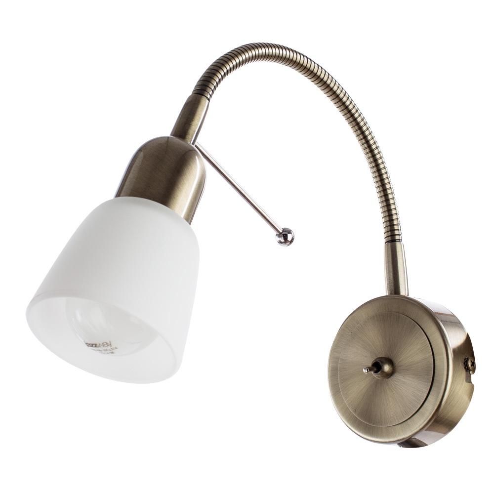 Настенно-потолочный светильник Arte Lamp A7009AP-1AB, E14, 40 Вт