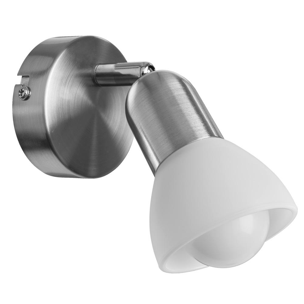 Настенно-потолочный светильник Arte Lamp A3115AP-1SS, E14, 40 Вт