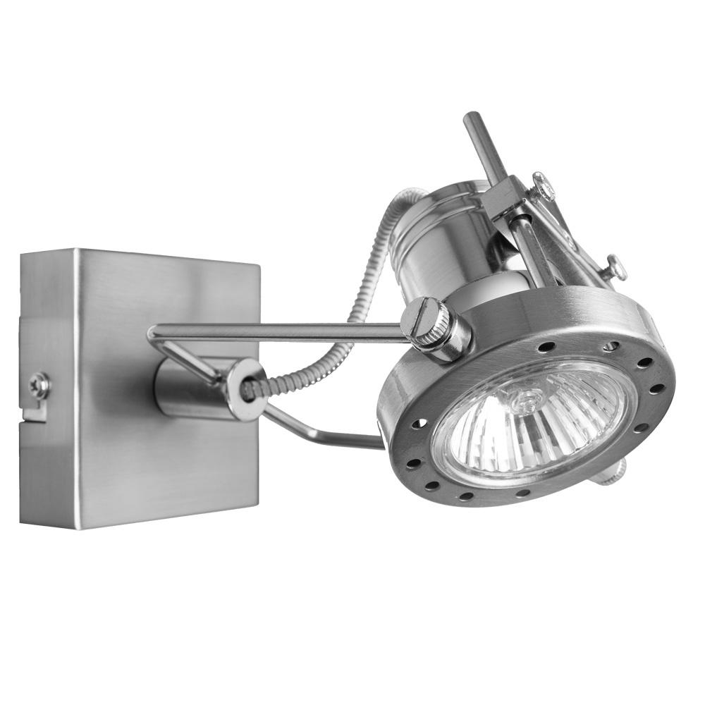 Настенно-потолочный светильник Arte Lamp A4300AP-1SS, GU10, 50 Вт