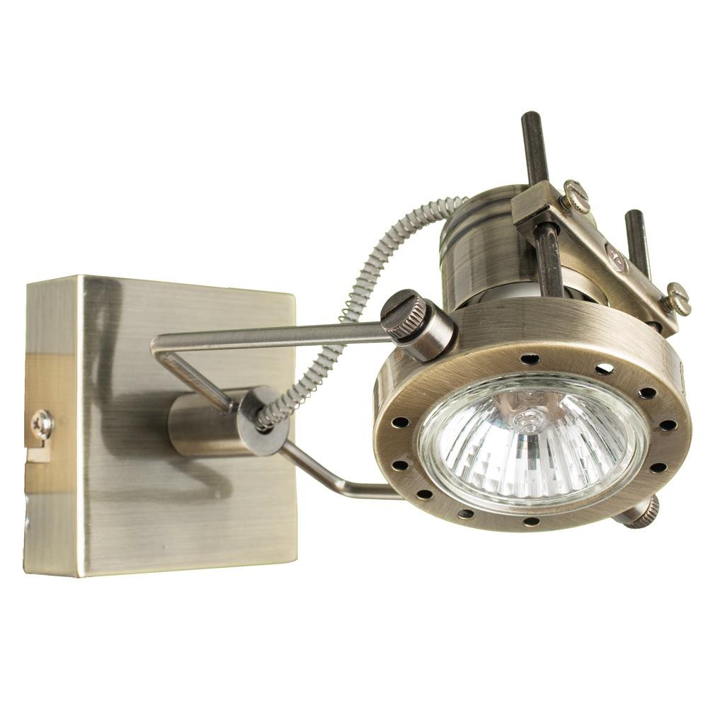 Настенно-потолочный светильник Arte Lamp A4300AP-1AB, GU10, 50 Вт цена