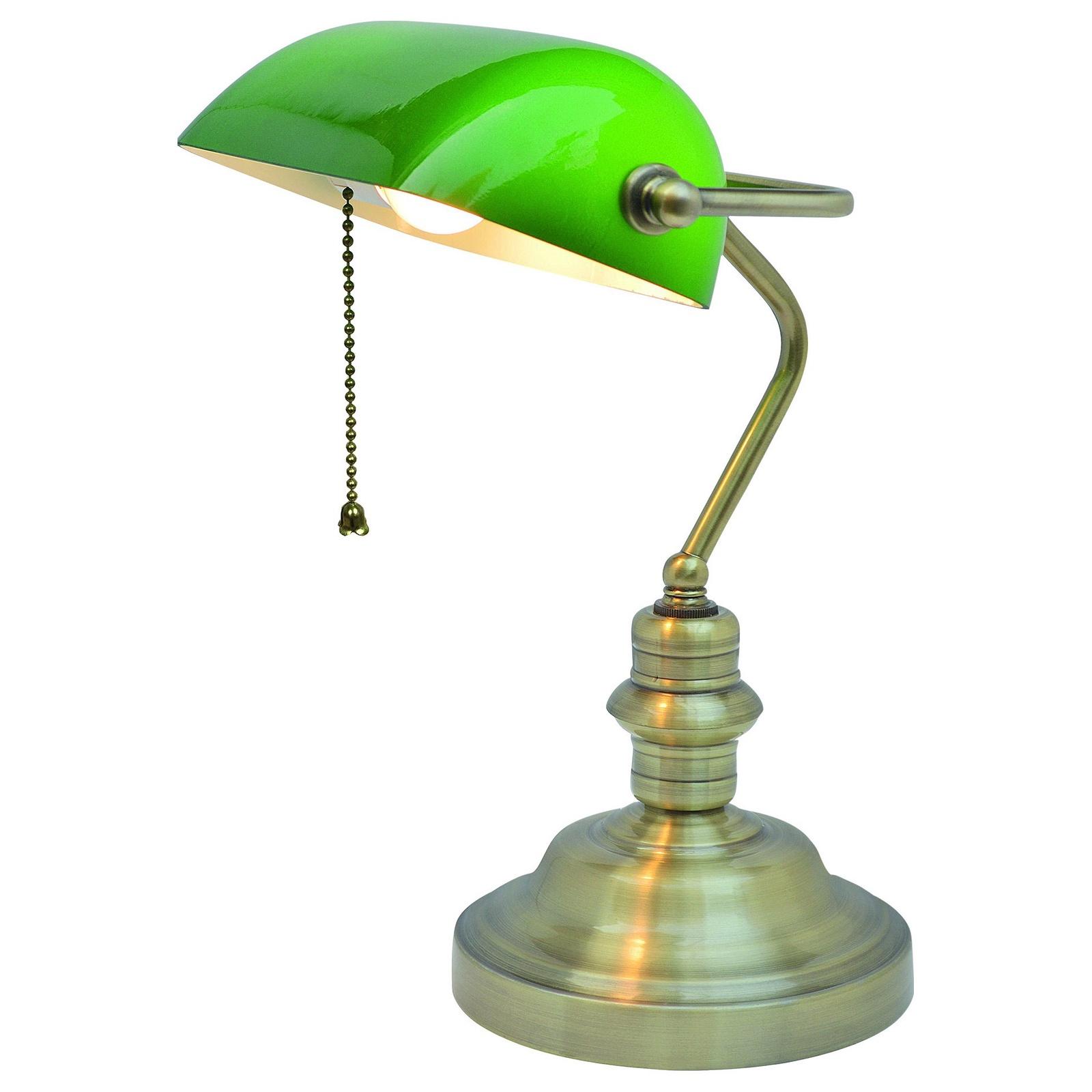 Настольный светильник Arte Lamp A2492LT-1AB, бронза настольная лампа офисная arte lamp banker a2493lt 1ab