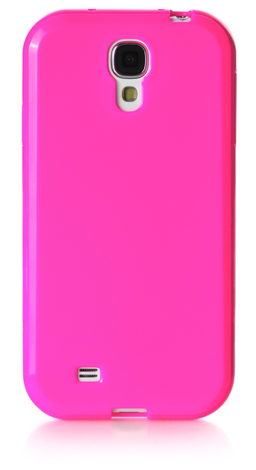 Чехол для сотового телефона iNeez накладка силикон мыльница 450178 для Samsung Galaxy S4, темно-розовый