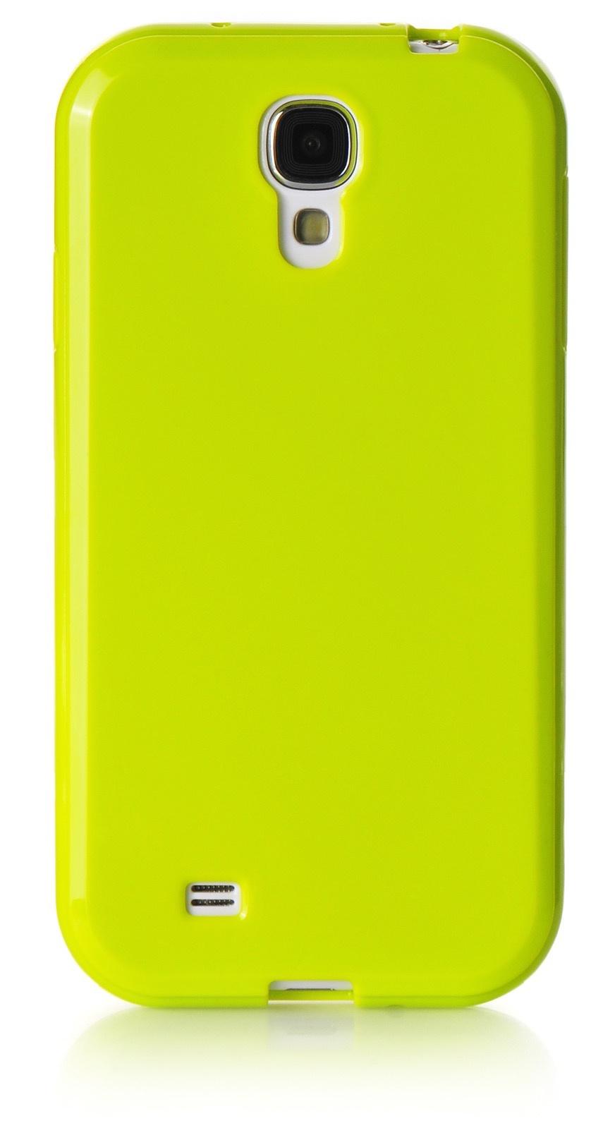 Чехол для сотового телефона iNeez накладка силикон мыльница 450175 для Samsung Galaxy S4, салатовый