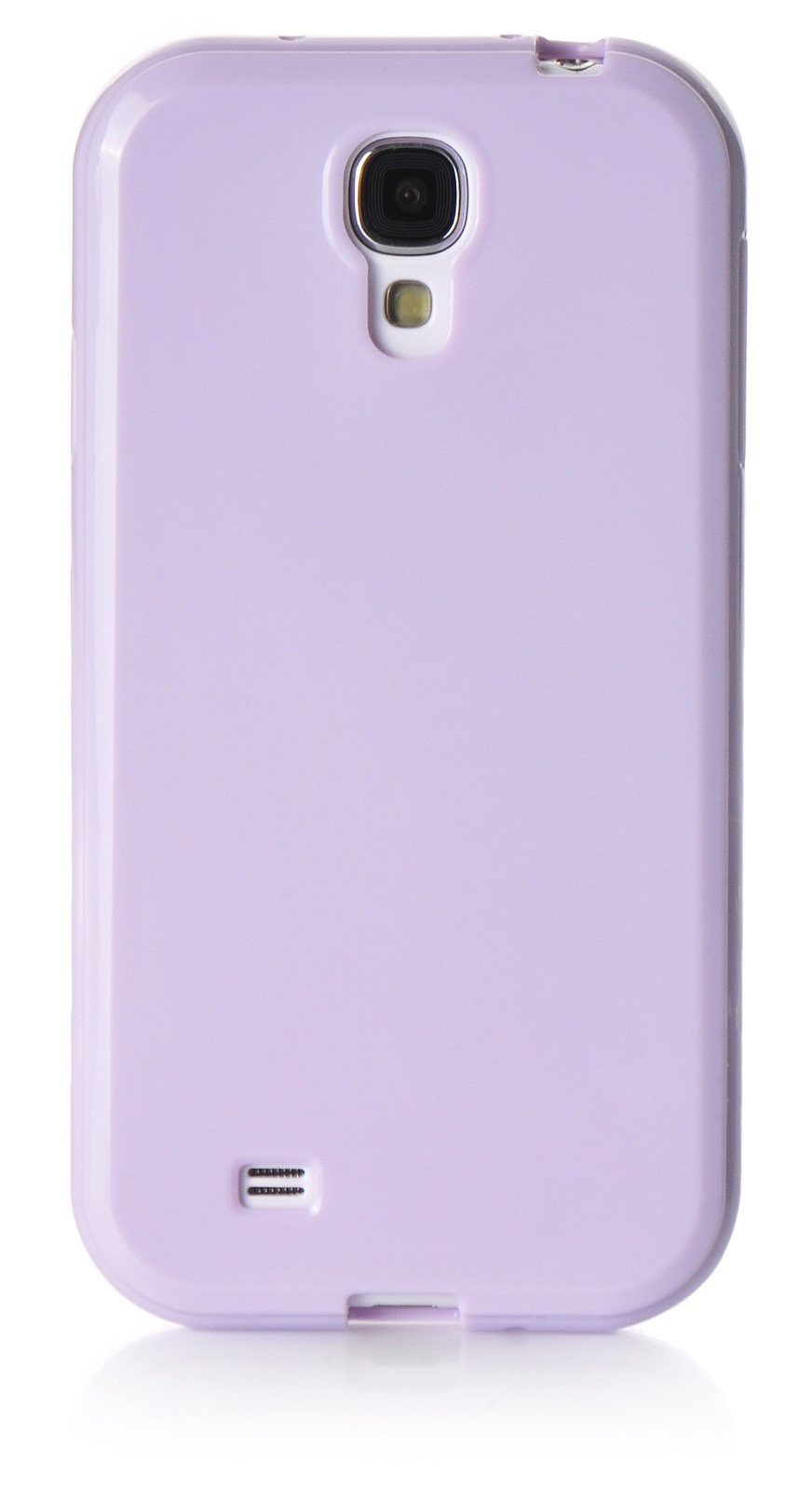 Чехол для сотового телефона iNeez накладка силикон мыльница 450173 для Samsung Galaxy S4, сиреневый