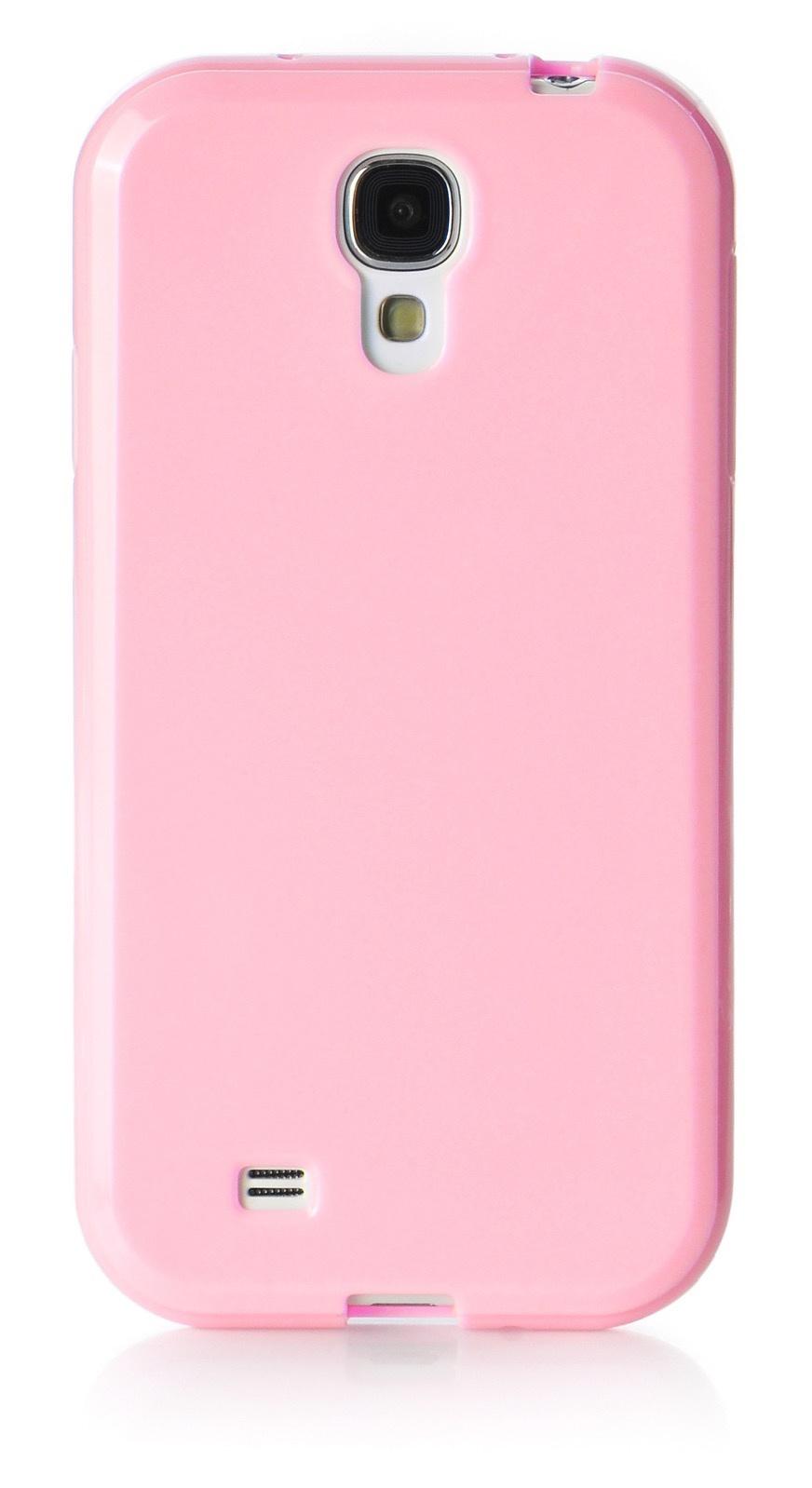 Чехол для сотового телефона iNeez накладка силикон мыльница 480087 для Samsung Galaxy S4 mini, розовый