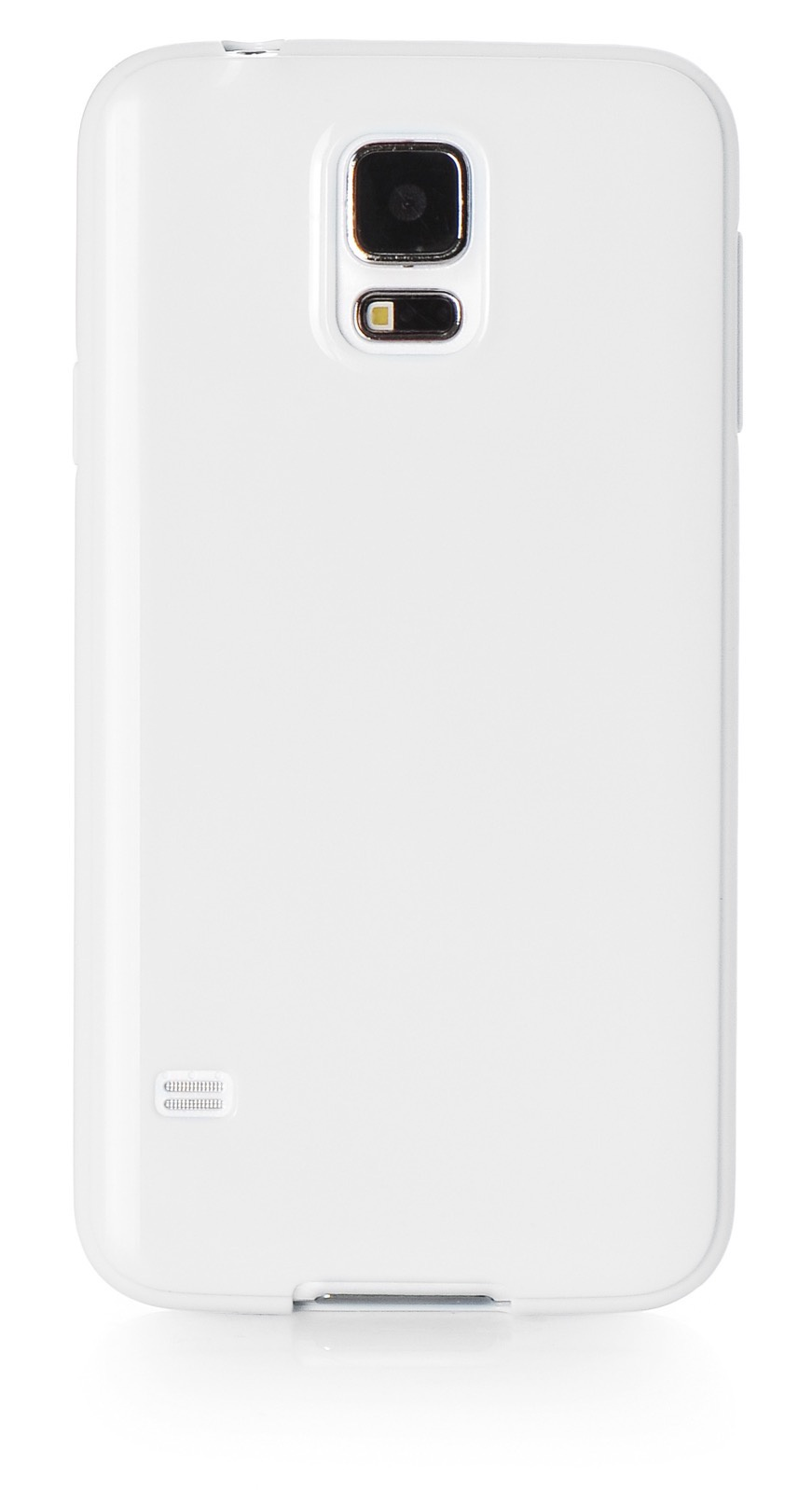 Чехол для сотового телефона iNeez накладка силикон мыльница 530081 для Samsung Galaxy S5, белый
