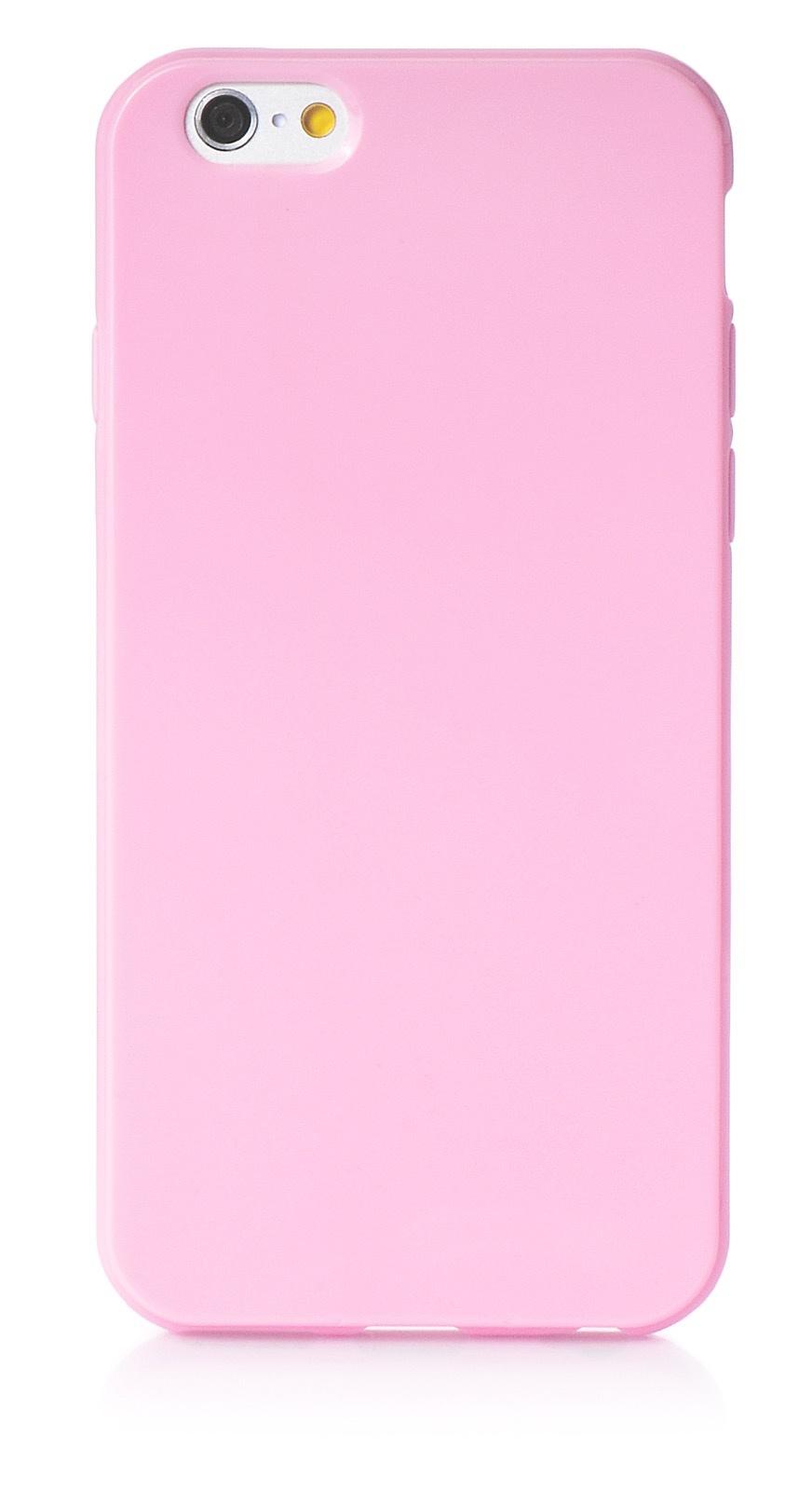 """Чехол для сотового телефона iNeez накладка силикон мыльница 580125 для Apple Iphone 6/6S 4.7"""", розовый"""