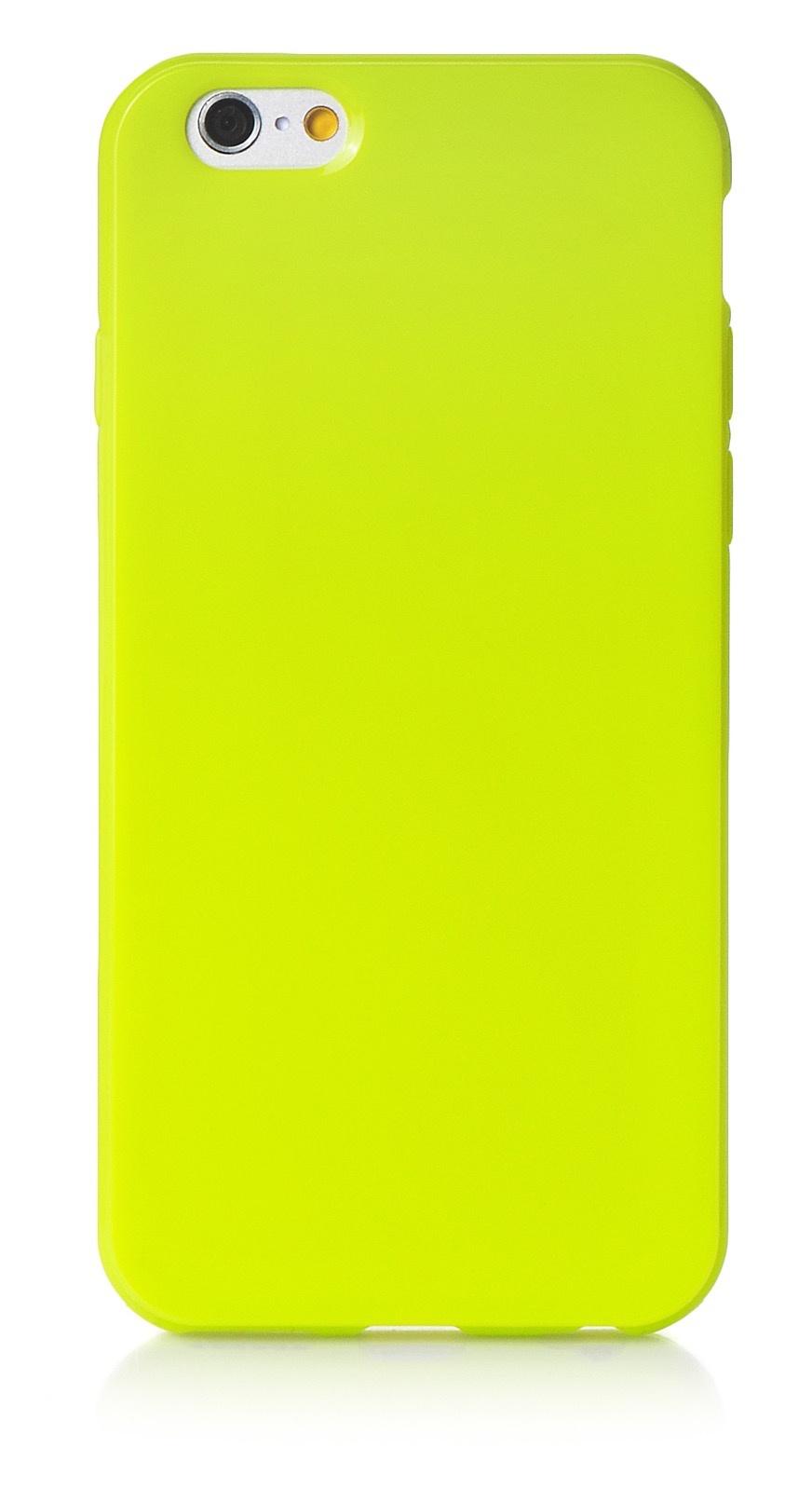 """Чехол для сотового телефона iNeez накладка силикон мыльница 580129 для Apple Iphone 6/6S 4.7"""", салатовый"""