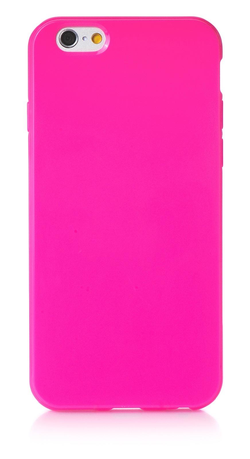 """Чехол для сотового телефона iNeez накладка силикон мыльница 580133 для Apple Iphone 6/6S 4.7"""", темно-розовый"""