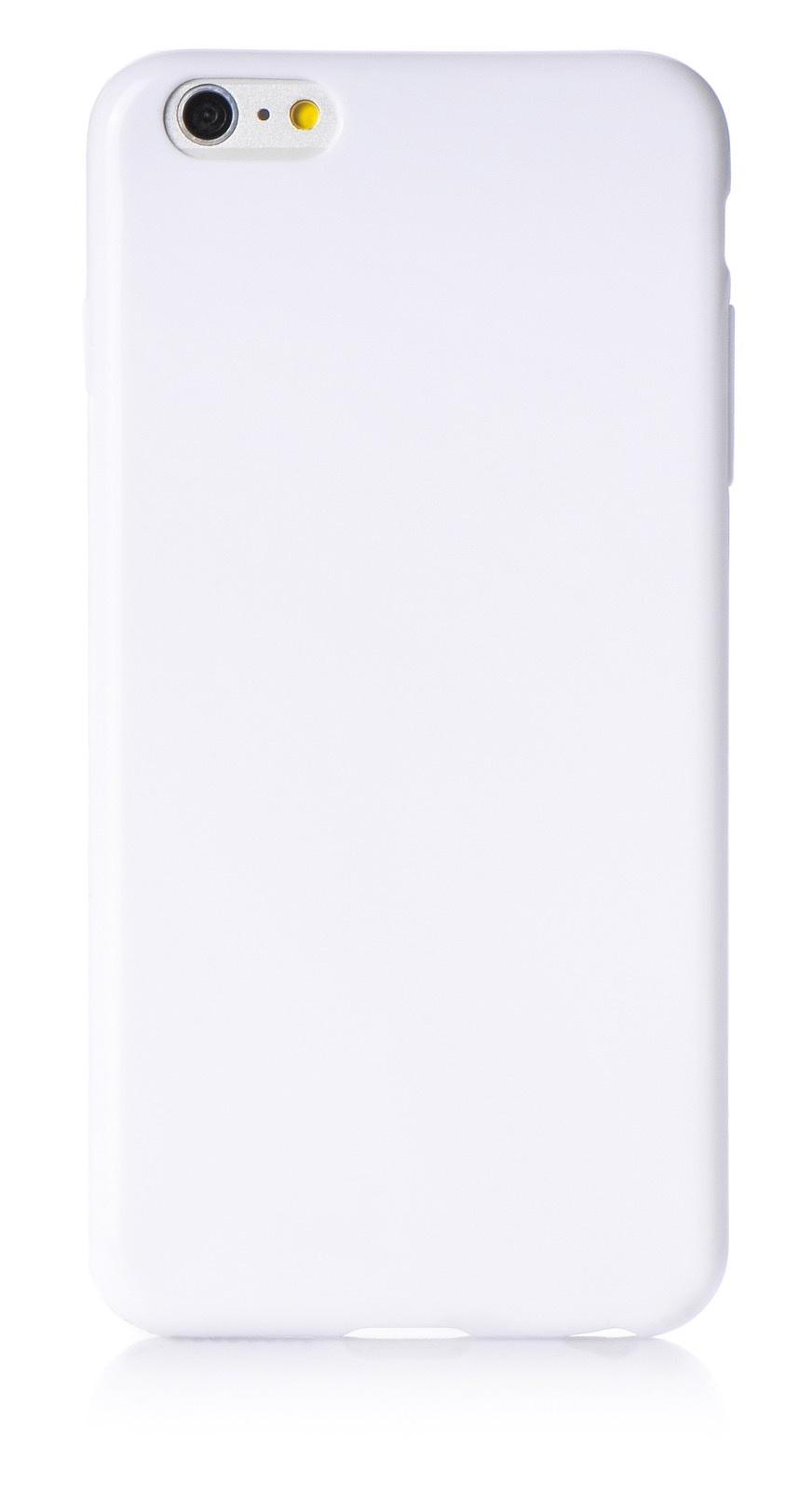 """Чехол для сотового телефона iNeez накладка силикон мыльница 620117 для Apple Iphone 6 Plus/6S Plus 5.5"""", белый"""