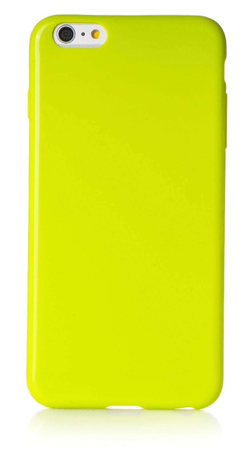 """Чехол для сотового телефона iNeez накладка силикон мыльница 620114 для Apple Iphone 6 Plus/6S Plus 5.5"""", зеленый"""