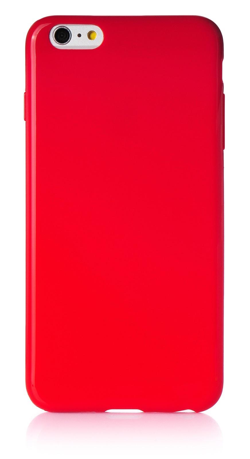 """Чехол для сотового телефона iNeez накладка силикон мыльница 620113 для Apple Iphone 6 Plus/6S Plus 5.5"""", красный"""