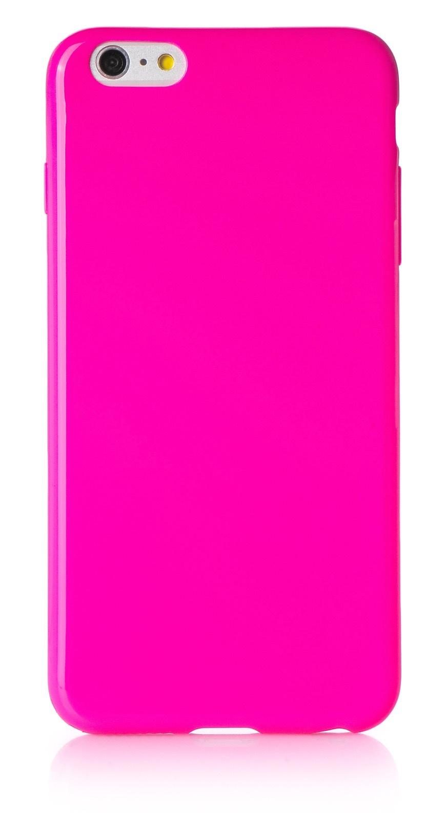 "Чехол для сотового телефона iNeez накладка силикон мыльница 620115 для Apple Iphone 6 Plus/6S Plus 5.5"", темно-розовый"