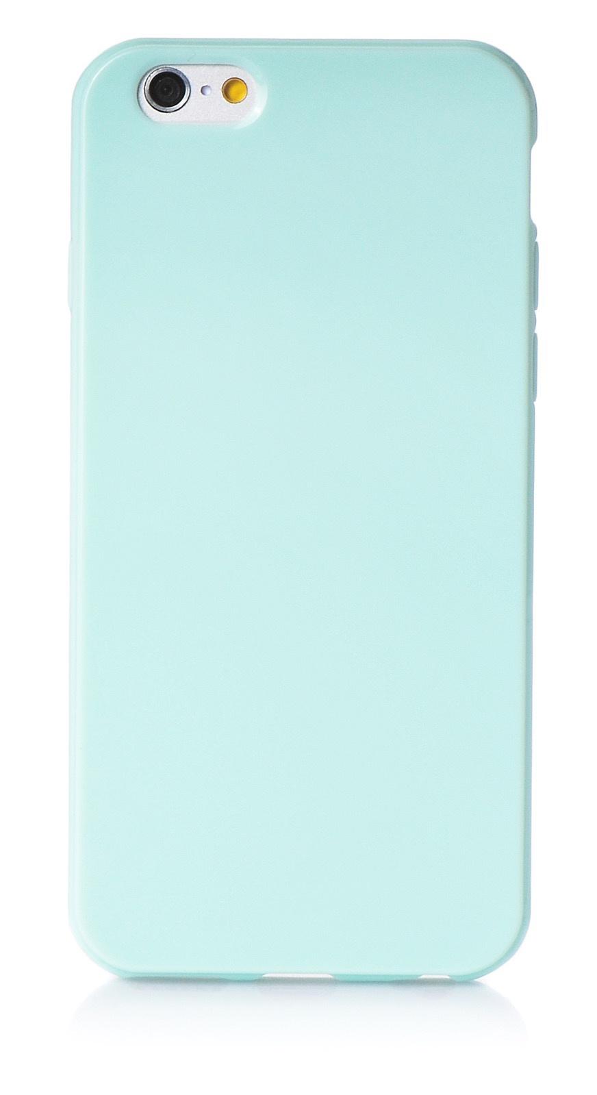 """Чехол для сотового телефона iNeez накладка силикон мыльница 620213 для Apple Iphone 6 Plus/6S Plus 5.5"""", светло-зеленый"""