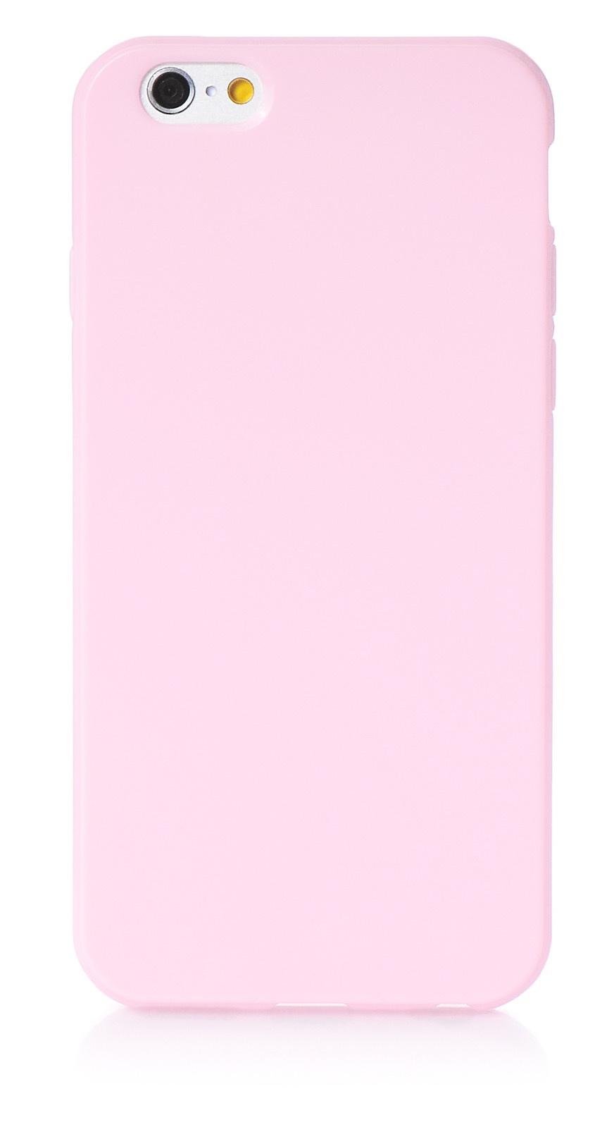 """Чехол для сотового телефона iNeez накладка силикон мыльница 620238 для Apple Iphone 6 Plus/6S Plus 5.5"""", светло-розовый"""