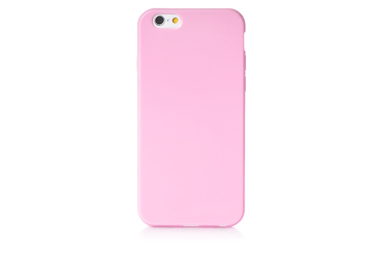 """Чехол для сотового телефона iNeez накладка силикон мыльница 620216 для Apple Iphone 6 Plus/6S Plus 5.5"""", розовый"""