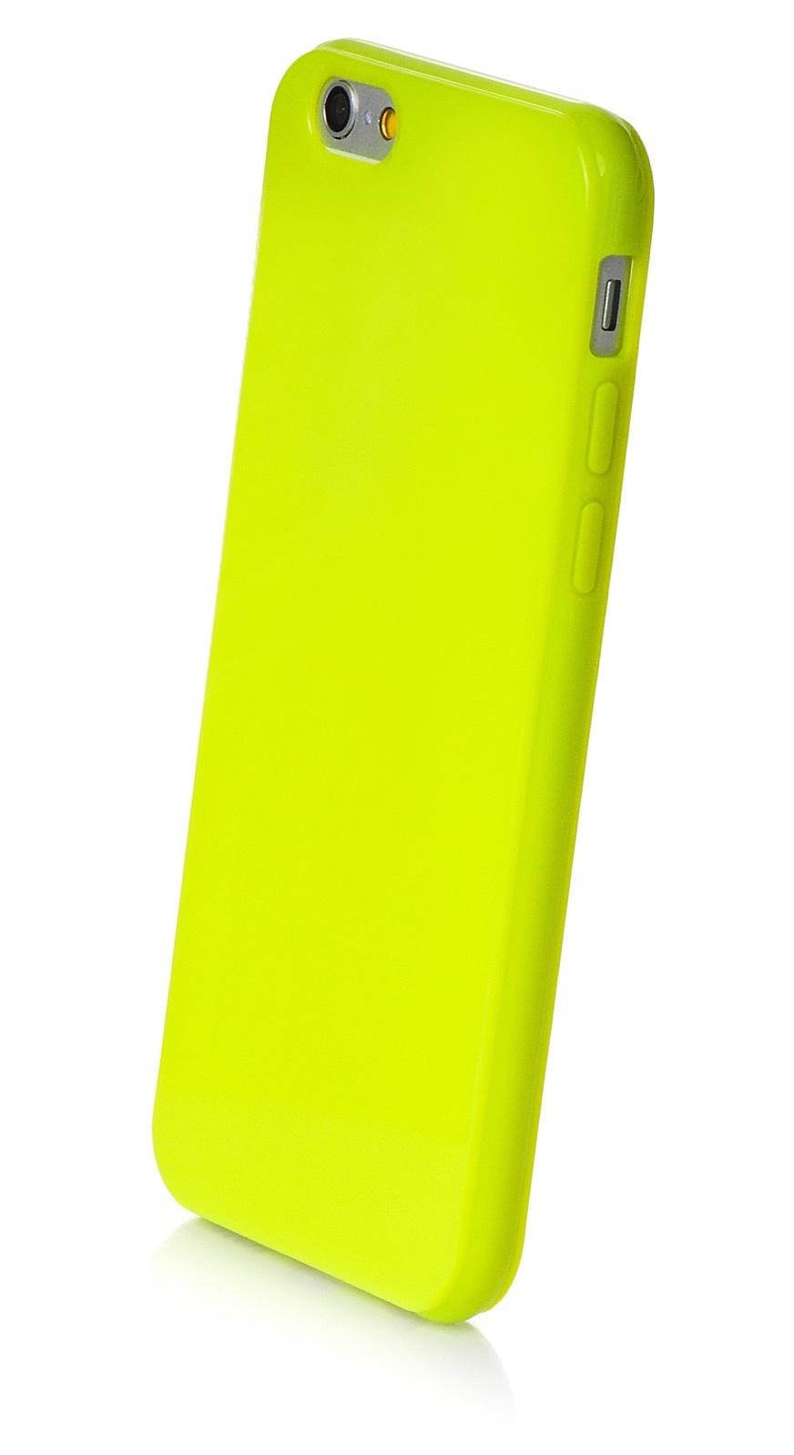 """Чехол для сотового телефона iNeez накладка силикон мыльница 620237 для Apple Iphone 6 Plus/6S Plus 5.5"""", салатовый"""