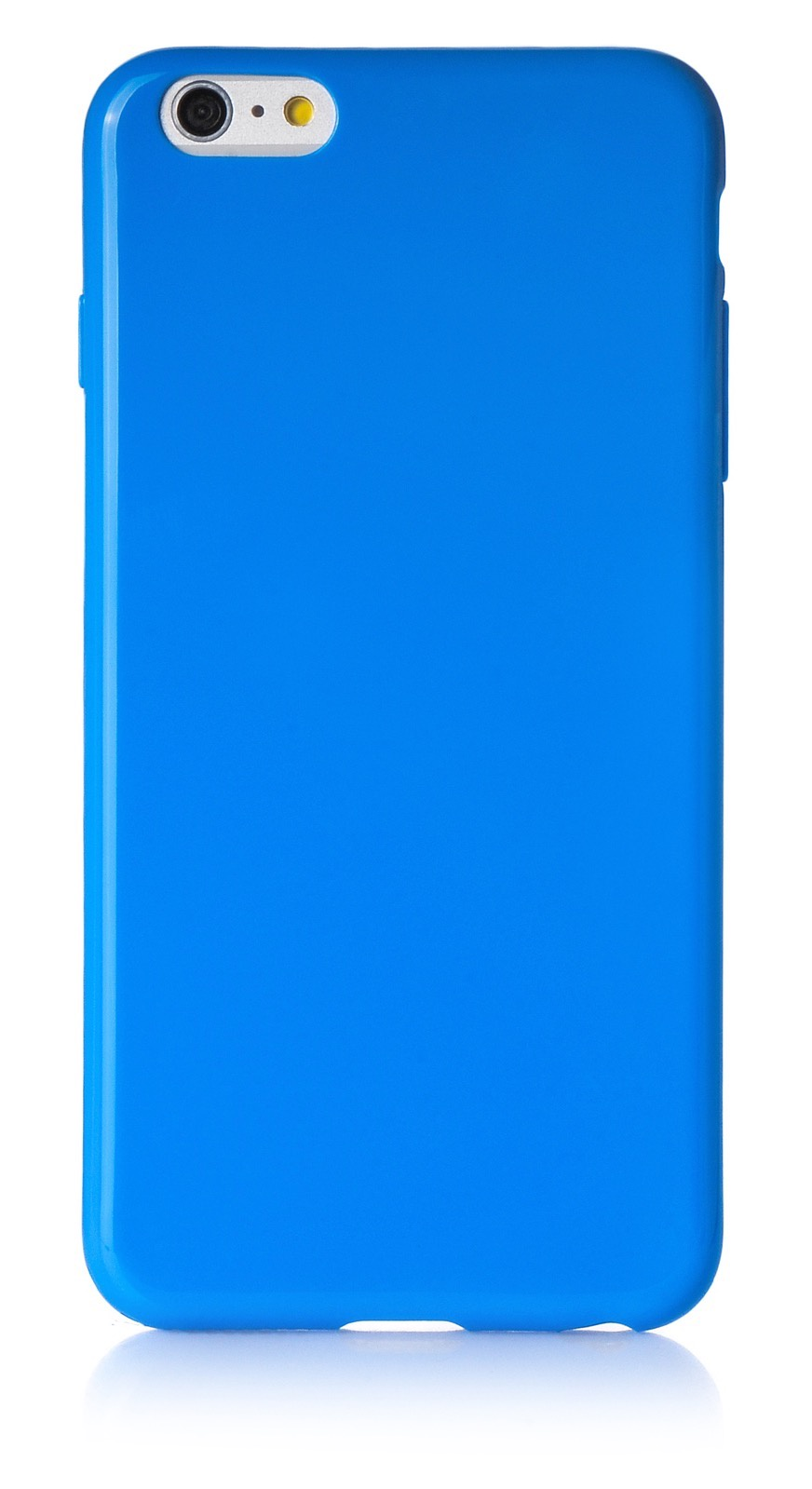 "Чехол для сотового телефона iNeez накладка силикон мыльница 620120 для Apple Iphone 6 Plus/6S Plus 5.5"", синий"