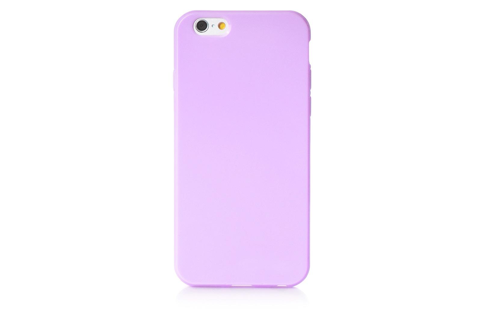 """Чехол для сотового телефона iNeez накладка силикон мыльница 620215 для Apple Iphone 6 Plus/6S Plus 5.5"""", сиреневый"""