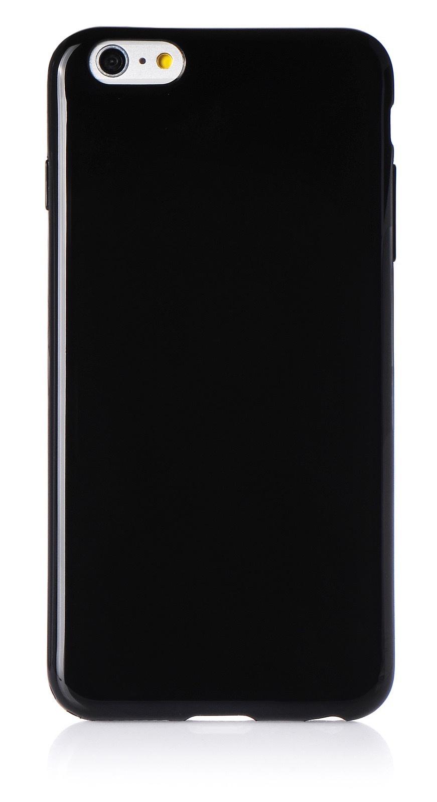 """Чехол для сотового телефона iNeez накладка силикон мыльница 620118 для Apple Iphone 6 Plus/6S Plus 5.5"""", черный"""
