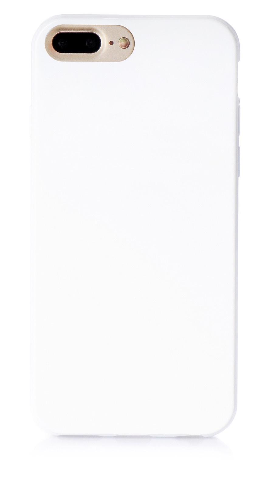 """Чехол для сотового телефона iNeez накладка силикон мыльница 900818 для Apple Iphone 7 Plus/8 Plus 5.5"""", белый"""