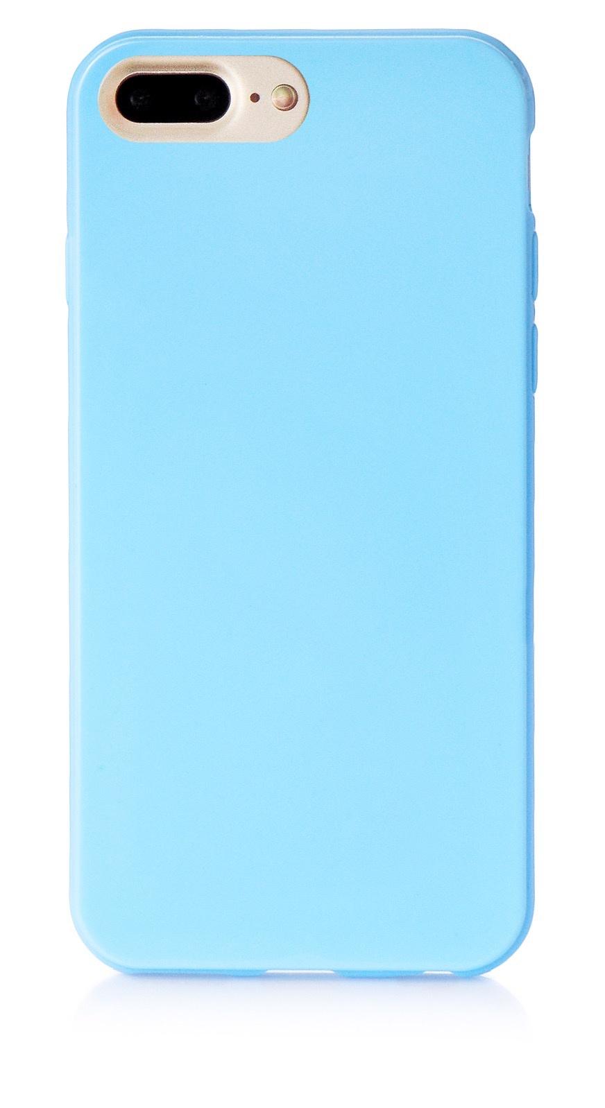 """Чехол для сотового телефона iNeez накладка силикон мыльница 900822 для Apple Iphone 7 Plus/8 Plus 5.5"""", голубой"""