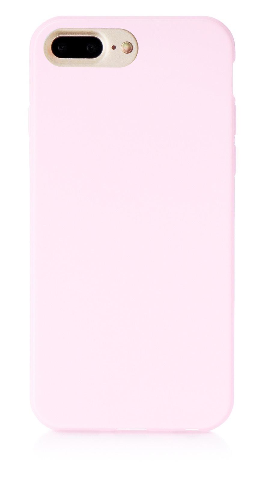 """Чехол для сотового телефона iNeez накладка силикон мыльница 900824 для Apple Iphone 7 Plus/8 Plus 5.5"""", светло-розовый"""