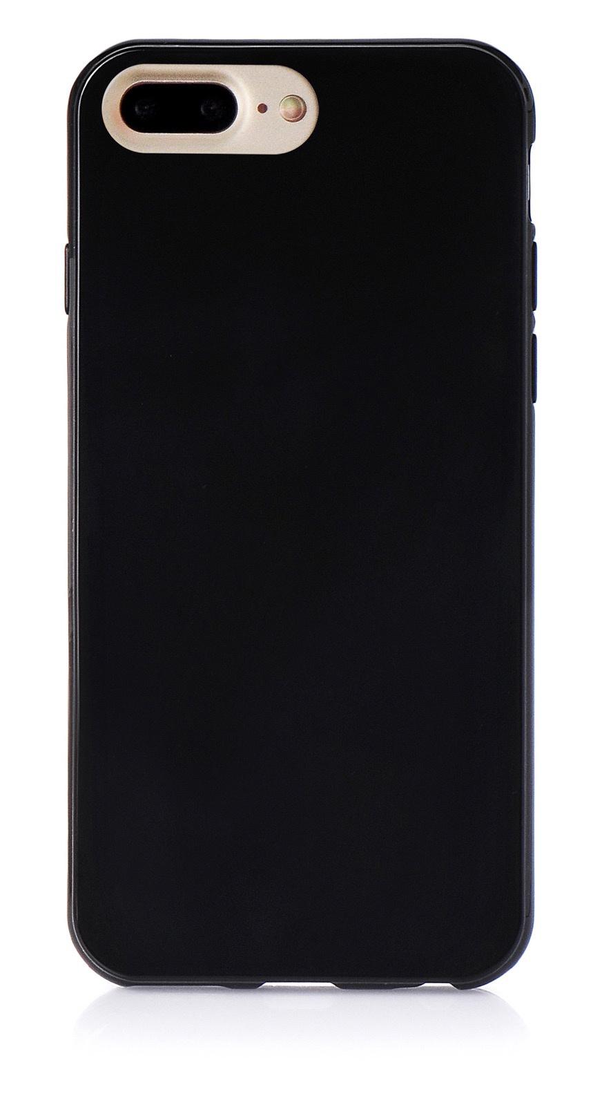 """Чехол для сотового телефона iNeez накладка силикон мыльница 900819 для Apple Iphone 7 Plus/8 Plus 5.5"""", черный"""