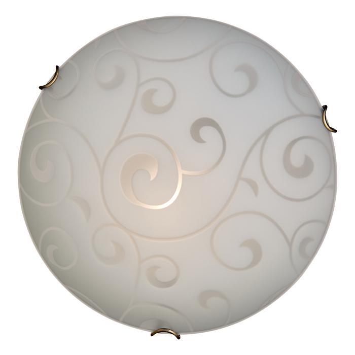 Настенно-потолочный светильник Sonex 109/K, E27, 60 Вт